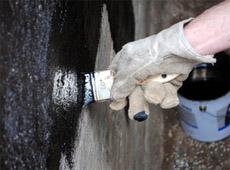 Bitumenanstrich Isolierung